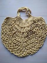 Nákupné tašky - Sieťovka žltá - 11597161_