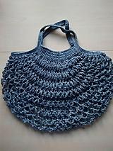 Nákupné tašky - Sieťovka modrá - 11597177_