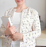 Kabáty - Dámske sáčko MINIMALISM • blossom - 11596255_