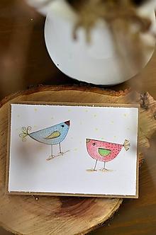 Papiernictvo - PiPi (Dva vtáčiky) - 11595284_