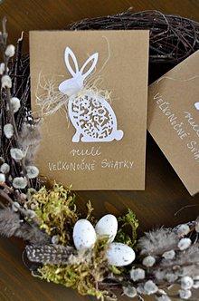 Papiernictvo - Veľkonočný zajac - 11595318_