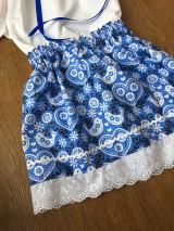 Detské oblečenie - Modry komplet - 11595317_