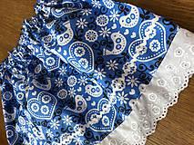 Detské oblečenie - Modry komplet - 11595320_