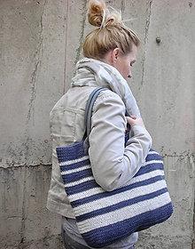 Veľké tašky - Námornická taška - 11594755_
