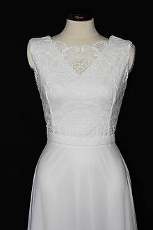 Šaty - Svadobné šaty v boho štýle - 11597663_