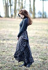 Sukne - zavinovacia sukňa Iveta - 11597836_
