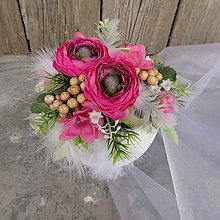 Dekorácie - Velikonoční dekorace Atanázie - 11596377_