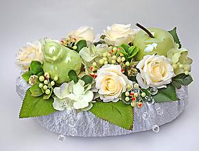Dekorácie - Dekorácia perleťová - 11595287_