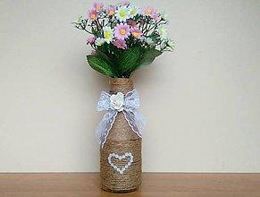 Dekorácie - Svadobná váza ❤️ - 11596290_