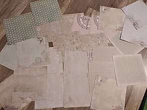 Papier - 160g ozdobný papier 24ks - 11596891_