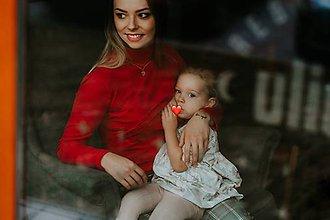 Tehotenské/Na dojčenie - Rolák na dojčenie-Intuícia ženy - 11596340_