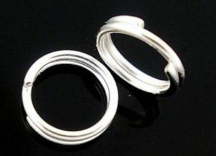 Komponenty - Krúžky navliekacie na výrobu bižu 5mm (balíček 50ks) - 11596473_