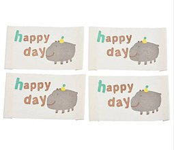 Galantéria - Látková nášivka HAPPY DAY - 11596903_