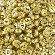 Korálky - Plastové korálky písmenkána VÝBER - 11597314_
