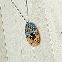Náhrdelníky - Kvet v elegancii (FIMO šperk) - 11595125_