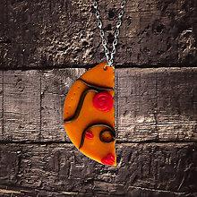 Náhrdelníky - Polovica (FIMO šperk) - 11595141_
