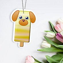 Papiernictvo - Nanuk menovka zvieracia - psík - 11597542_