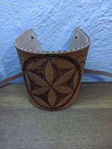 Náramky - Nátepník dubový so svargou - 11595745_