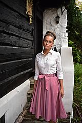 Sukne - BEATRIX sukně, flexibilní pas - 11599261_