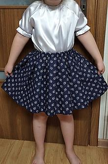 Detské oblečenie - Suknička - 11601272_