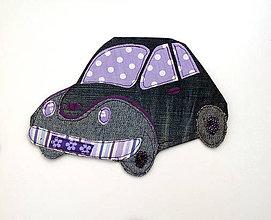 Detské doplnky - Dopravné prostriedky z textilu - 11599849_