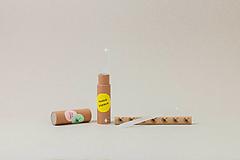 Drobnosti - Set sklených pilníkov na nechty (3 ks v tube) - 11598559_