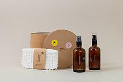 Drogéria - Prírodné čistenie pleti - darčekový tubus (3 produkty) - 11598566_