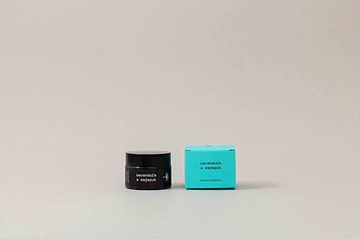 Levanduľa a kajeput - krémový dezodorant (45g/30ml)