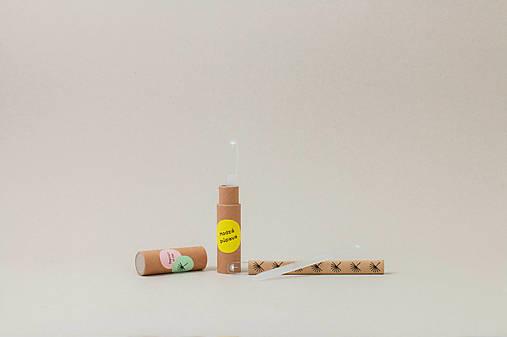 Set sklených pilníkov na nechty (3 ks v tube)