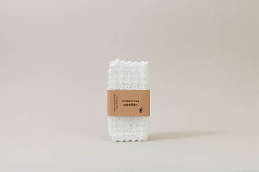 Drobnosti - Kozmetický uteráčik na čistenie pleti - 11598563_