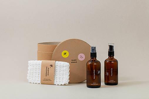 Prírodné čistenie pleti - darčekový tubus (3 produkty)