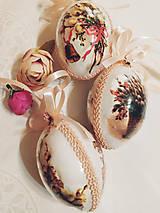 """Dekorácie - Veľkonočné kraslice """"Ružové krásky"""" - 11600729_"""
