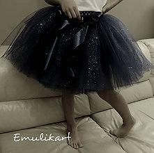 Detské oblečenie - Elegantná tutu s trblietkami - 11599647_