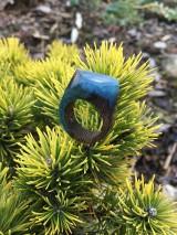 Prstene - Drevený prsteň: Malá galaxia - 11600782_