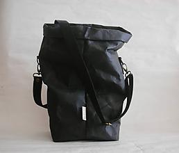 """Veľké tašky - SnapPap-Black """" Veľká taška na všetko"""" - 11599213_"""