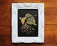 Kresby - Tanec zlatého dažďa - 11601735_