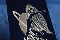 Kresby - Tanec zlatého dažďa - 11601789_