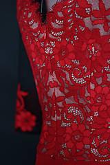 Topy - Body Dyona s bodkovanými rukávmi rôzne farby - 11601197_