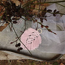 Dekorácie - Macramé Bertolda - 11599369_