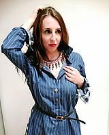 Šaty - Rifľová ležérnosť - 11598994_