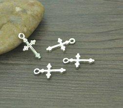 Komponenty - Prívesok krížik - 11600831_