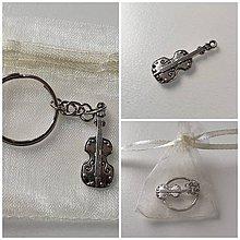 Komponenty - Kľúčenka s motívom v darčekovom balení - 11601114_