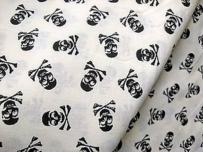 Úžitkový textil - Posledná šanca na túto štýlovú látku KOSTRIACI - 11603442_