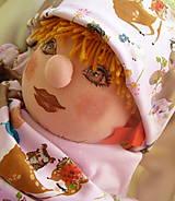 Detské čiapky - set lesné zvieratká - 11603014_