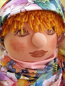 Detské čiapky - set kvetinový - 11603040_