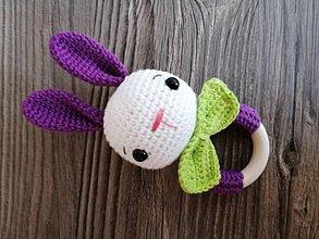 Hračky - Zajko pre dievčatko - 11603598_