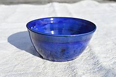 Nádoby - Miska modrá - 11604659_