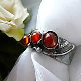 Prstene - Prsteň s karneolom § FELIZITAS § - 11604482_