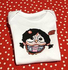 Detské oblečenie - Detské bavlnené body - ♥ OčiPuči Metal Baby Patty - 11604773_