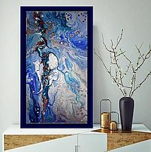 Obrazy - Strieborná lagúna - 11603235_